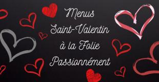 Menus de la Saint-Valentin