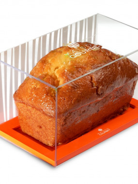 Le cake purement orange