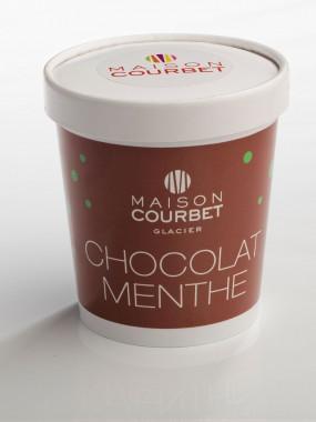 Glace chocolat menthe