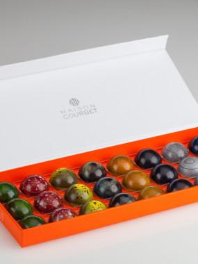 Bonbons chocolats écrin de 24