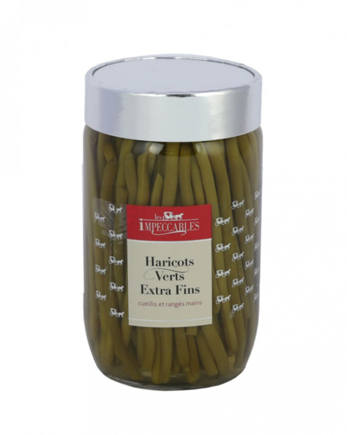 Haricots verts extra fins le bocal de 660 g