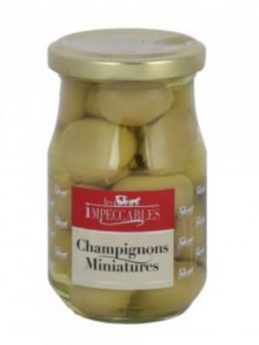 Champignons miniatures le bocal de 340 g