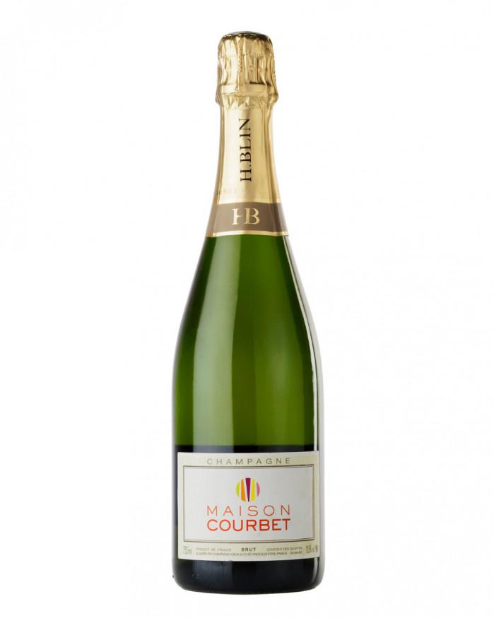 Champagne Blin, Brut, Maison Courbet