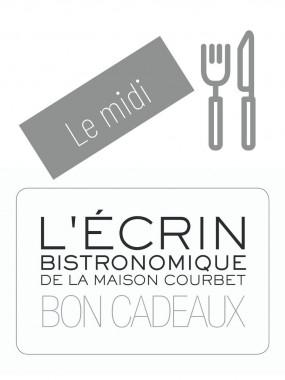 Bon cadeau L'Ecrin Bistronomique - Le midi