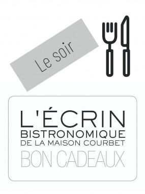 Bon cadeau L'Ecrin Bistronomique - Le soir