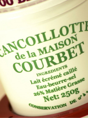 Cancoillotte le pot de 250 g