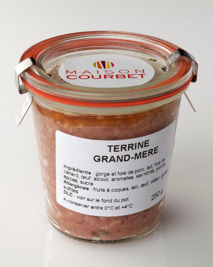 Terrine grand-mère le bocal de 250 g