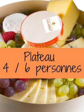 Plateau de fromages 4/6 personnes