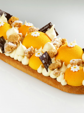 Tarte abricot vanille 6 pers