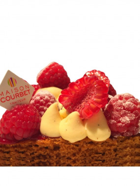 Sablé breton framboise vanille